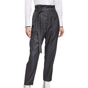 BRUNELLO CUCINELLI Lightweight Wool Paperbag Pants